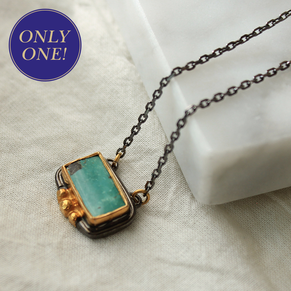 [only one]12월탄생석turquoise necklace #2