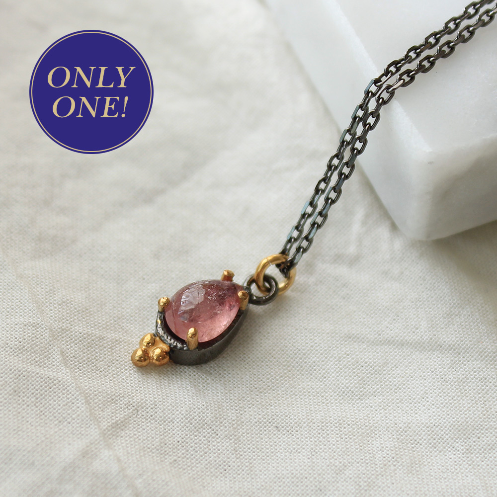 [only one]tourmaline necklace #2