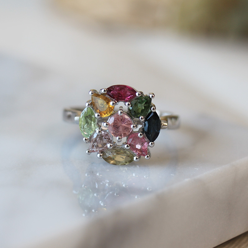 [Only one]Tourmaline ring #1(3type)