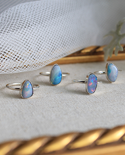 [only one]10월 탄생석opal ring series #2오팔 반지 시리즈 2
